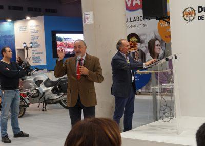 Presentación Intur 2018 Stand de Valladolid