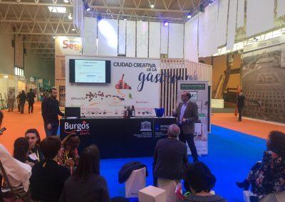 Presentación en Intur Stand de Diputación de Burgos